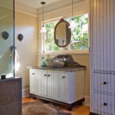 Eclectic Bathroom by Deborah Gordon Designs