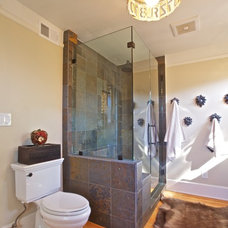 Eclectic Bathroom by Deborah Gordon Designs