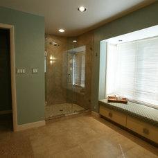 Contemporary Bathroom by NLT Construction.Co.Inc.