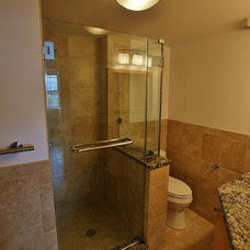 Modern Bathroom by NLT Construction.Co.Inc.