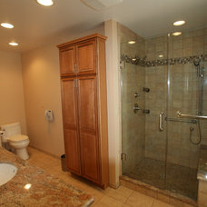 Contemporary Bathroom by NLT Construction.Co.Inc.