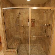 Modern Bathroom by NLT Construction.Co.Inc.
