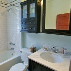 Traditional Bathroom by NLT Construction.Co.Inc.