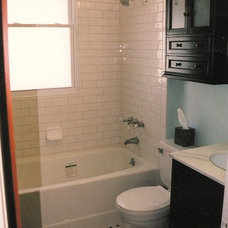 Traditional Bathroom by NLT Construction.Co.Inc.