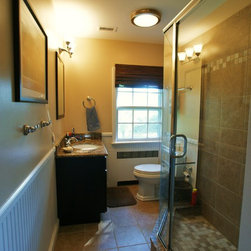 Baltimore beadboard bathroom design ideas pictures for Bath remodel baltimore