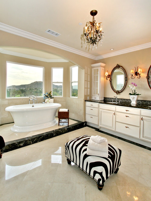 Best crema marfil marble design ideas remodel pictures - Best paint color for crema marfil bathroom ...