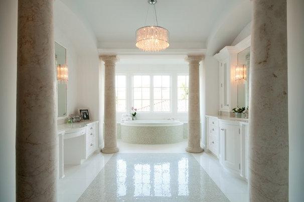 Mediterranean Bathroom by The Kitchenworks