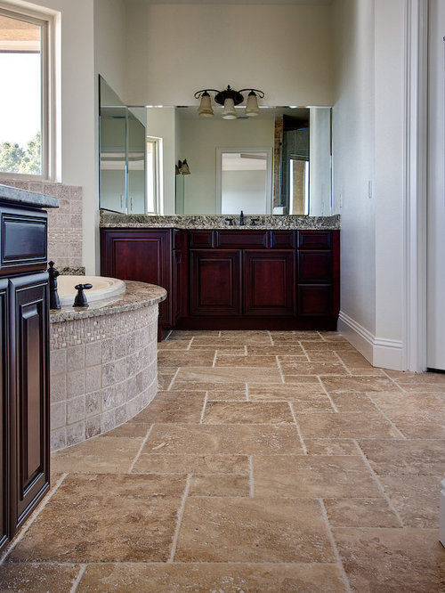 Noce Travertine Tile Ideas Pictures Remodel And Decor