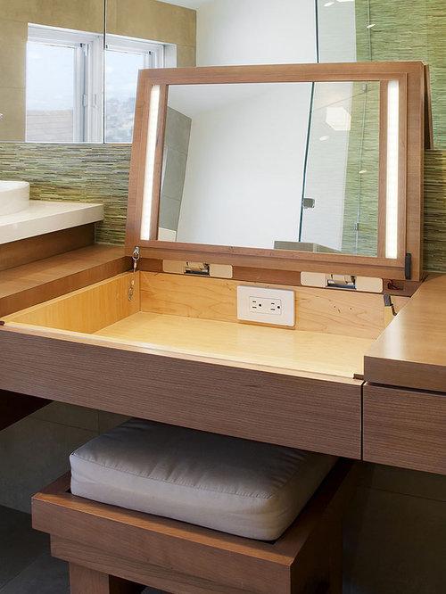 Bathroom Makeup Vanity Ideas Pictures Remodel and Decor – Makeup Vanity Bathroom