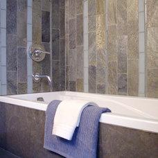 Contemporary Bathroom by kathleen monroe design