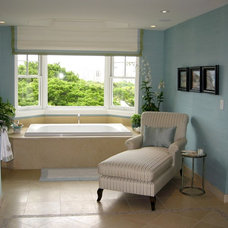 Tropical Bathroom by D for Design