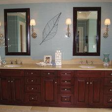 Beach Style Bathroom by D for Design