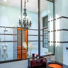 Industrial Bathroom by Wettling Architects