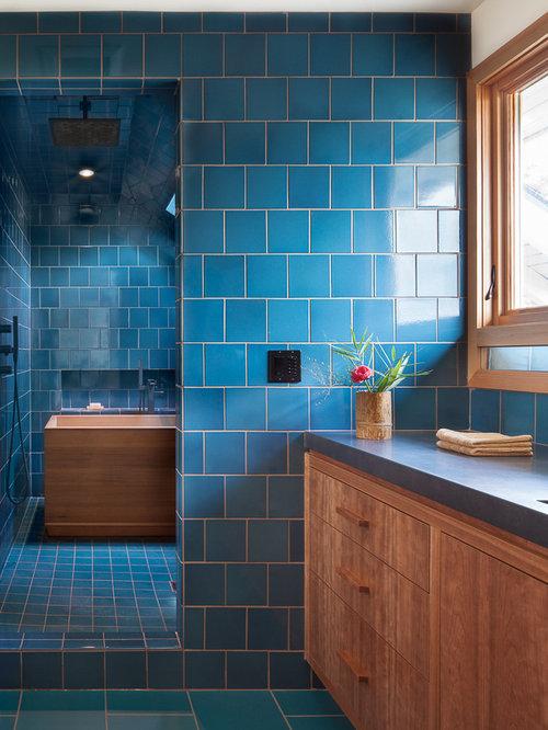 pose carrelage mosaique pour piscine pour carrelage salle de bain ...