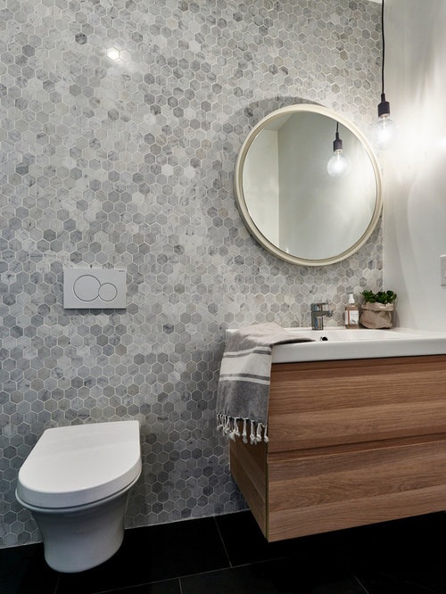 Lastest The Upstairs Master Bathroom Contrasts The Downstairs Bathroom In The