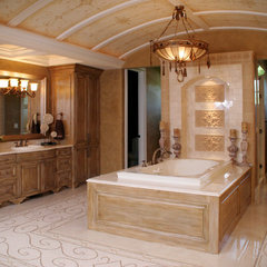 mediterranean bathroom by Palmieri Builders