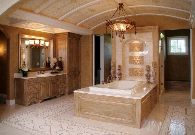 Mediterranean Bathroom by Palmieri Builders