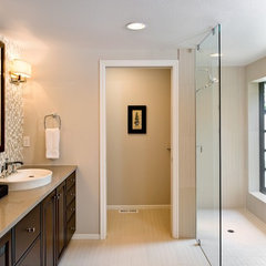 contemporary bathroom by Angela Strickland