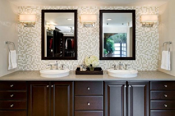 Contemporary Bathroom by Angela Strickland