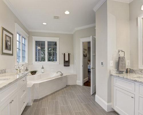Handfat Funkis : Foton och badrumsinspiration för en suite badrum med ett nedsänkt