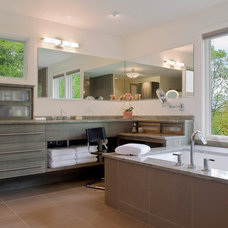 Contemporary Bathroom by Samsel Architects