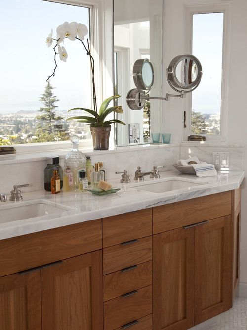 Kraftmaid Cherry Vanity Ideas, Pictures, Remodel and Decor