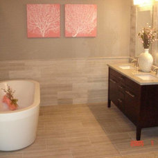 Contemporary Bathroom by Mosaic Tile Company