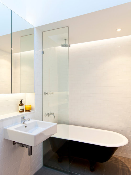 clawfoot tub shower design ideas remodel pictures houzz