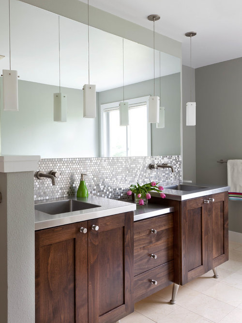 Vanity Backsplash Houzz