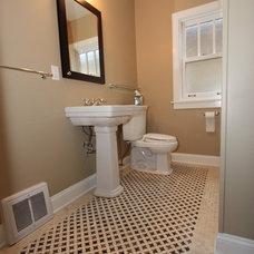 Traditional Bathroom by Design Build 4U Chicago