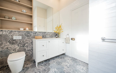 Stickybeak of the Week: A Sophisticated Bathroom With Storage to Spare