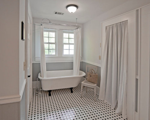 Clawfoot Tub Shower Home Design Ideas Pictures Remodel And Decor