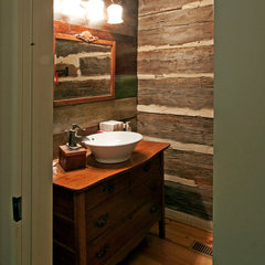traditional bathroom by Clark & Zook Architects, LLC