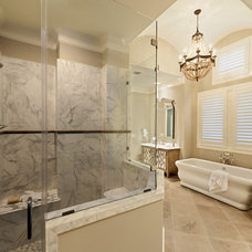Traditional Bathroom by Frankel Building Group