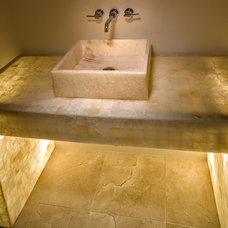Contemporary Bathroom by Frankel Building Group
