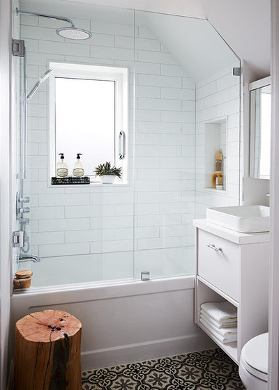 Contemporary Bathroom by Kate Dickson Design