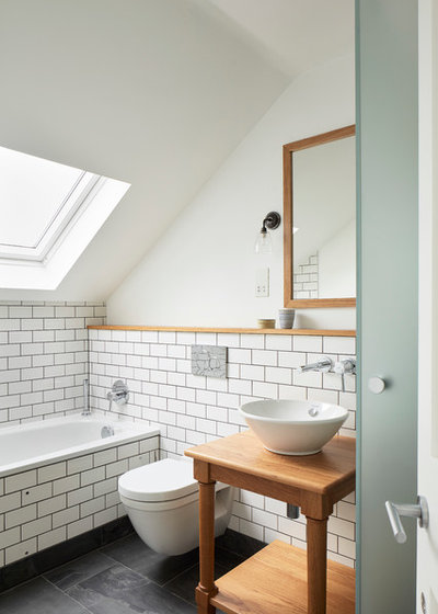 Contemporary Bathroom by Robert Rhodes Architecture + Interiors
