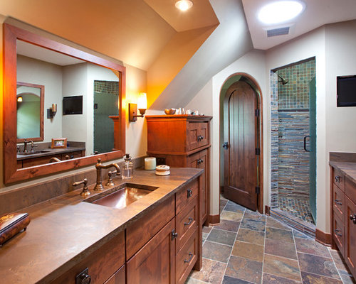 Mission bathroom home design ideas pictures remodel and - Mission style bathroom accessories ...
