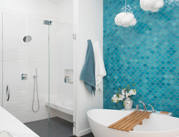 Contemporary Bathroom by Born Imagery