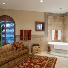 traditional bathroom by Fisher Custom Homes