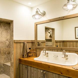 75 Rustic Bathroom Design Ideas - Stylish Rustic Bathroom Remodeling ...