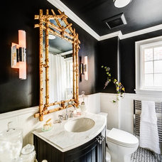 Traditional Bathroom by Bravehart Design Build