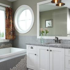 Traditional Bathroom by Wallmark Custom Homes