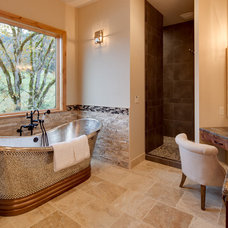 Craftsman Bathroom by Associated Designs, Inc.