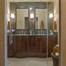Contemporary Bathroom by Alan Design Studio