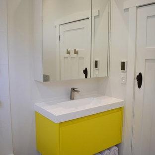 Northcote Bathroom - Custom Vanity and Mirror