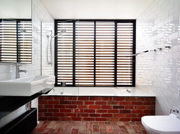 Trendy Badeværelse by Wolveridge Architects