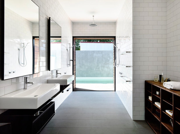 Contemporary Bathroom by Wolveridge Architects