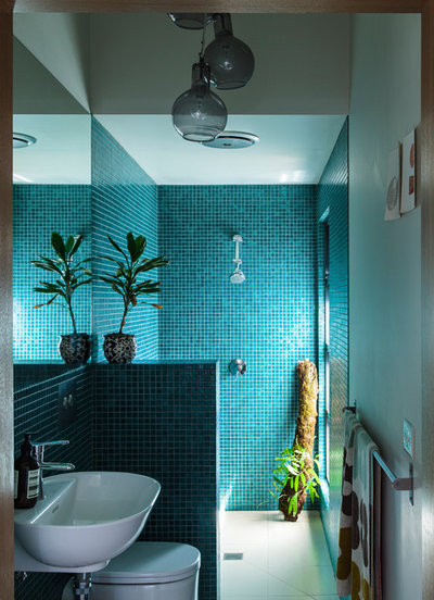 Contemporary Bathroom by Olivia van Dijk Architecture