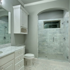 Traditional Bathroom by Veranda Fine Homes